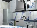 "3D модель  кухня ""гжель"""