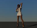 3D модель  lady
