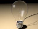 3D модель  Лампа накаливания