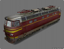 3D модель  Locomotive chs4 072