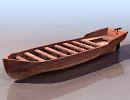 3D модель Лодка