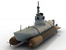 3D модель Лодка подводная Biber