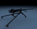 3D модель  m2 пулемёт, без текстур