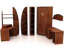 3D модель Мебель для детской-1