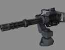 3D модель  Minigun M134