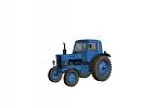 3D модель  трактор МТЗ80