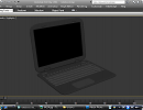 3D модель  Notebook DELL