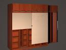 3D модель  офисный шкаф