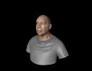 3D модель  oldman