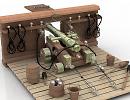3D модель Орудие корабельное 12 фунтов