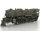 3D модель Паровоз 2-6-4