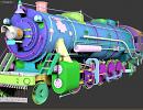 3D модель  поезд