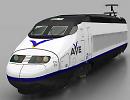 3D модель Поезд AVE