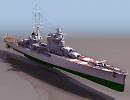 3D модель  pola военный корабль