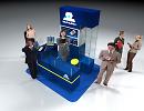 3D модель SkyLink-стойка