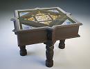 3D модель  стол в восточном стиле