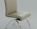 3D модель  стул современный