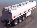 3D модель цистерна колёсная