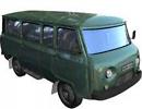 3D модель  Уаз