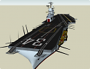 3D модель USS Oriskany