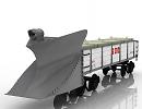3D модель Вагон снегоуборочный