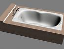 3D модель  Ванна