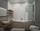 3D модель  ванная комната