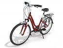 3D модель  велосипед женский