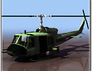 3D модель  вертолёт