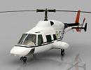 3D модель Вертолет Bell 222