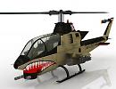3D модель Вертолет Bell AH-1 Cobra