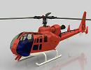 3D модель Вертолет GAZELLE