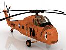 3D модель Вертолет HUS-1L KINGPIN II