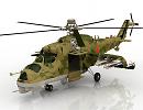3D модель Вертолет Ми-24