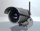 3D модель  Видеокамера беспроводная с IP
