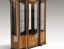 3D модель  Витрина классическая трёх-дверная