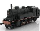 3D модель VLC 75 локомотив