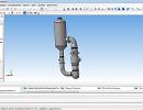3D модель  Выпарной аппарат