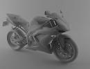 3D модель  Yamaha YZF-R1