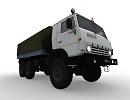 3D модель Камаз 4310