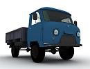 3D модель Уаз 452Д