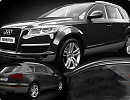 3D модель Audi Q7