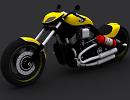3D модель Harley Davidson Custom