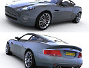 3D модель Aston Martin V12