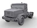 3D модель ЗиЛ 4421
