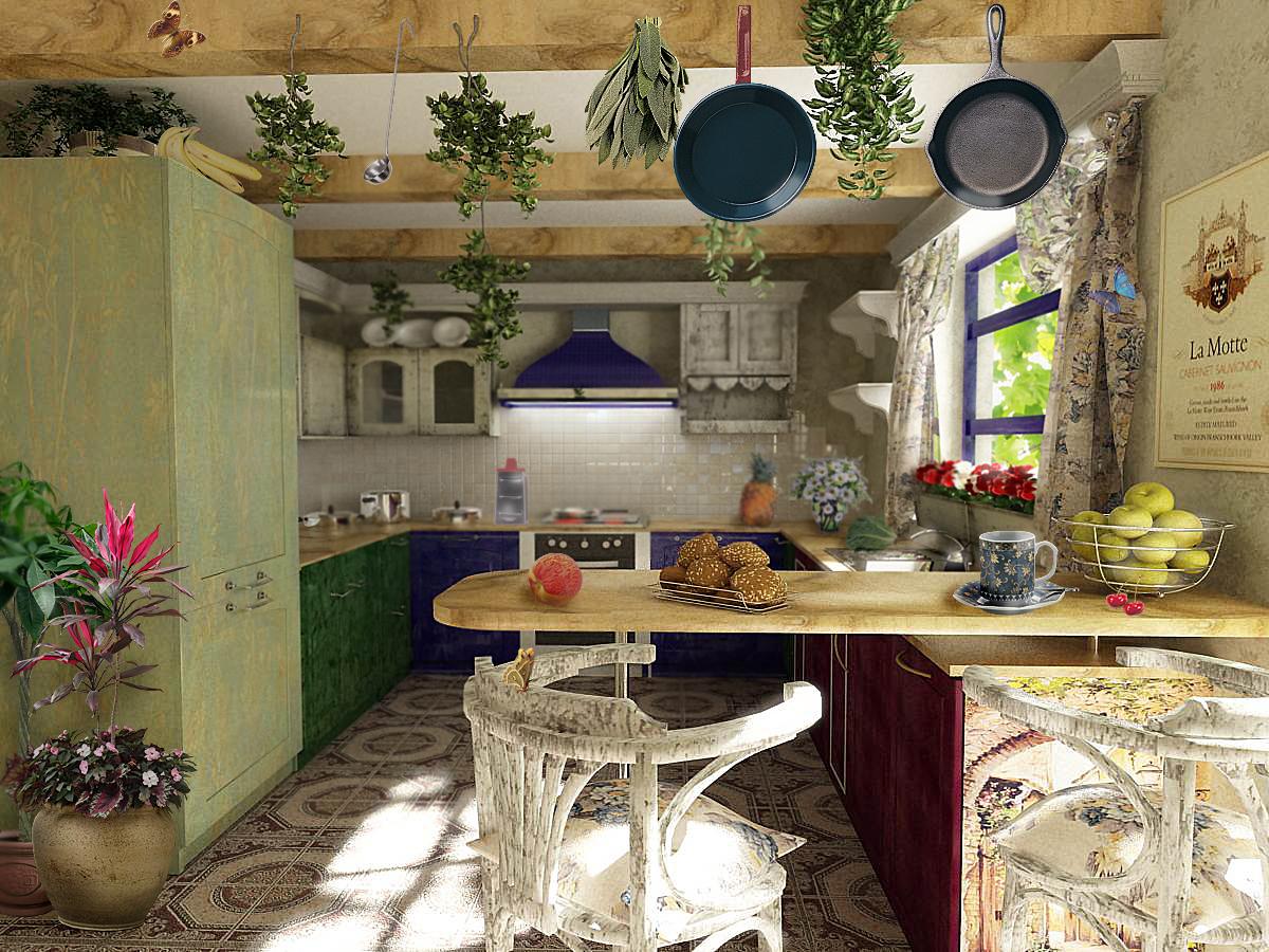 Lvlk кухня прованс