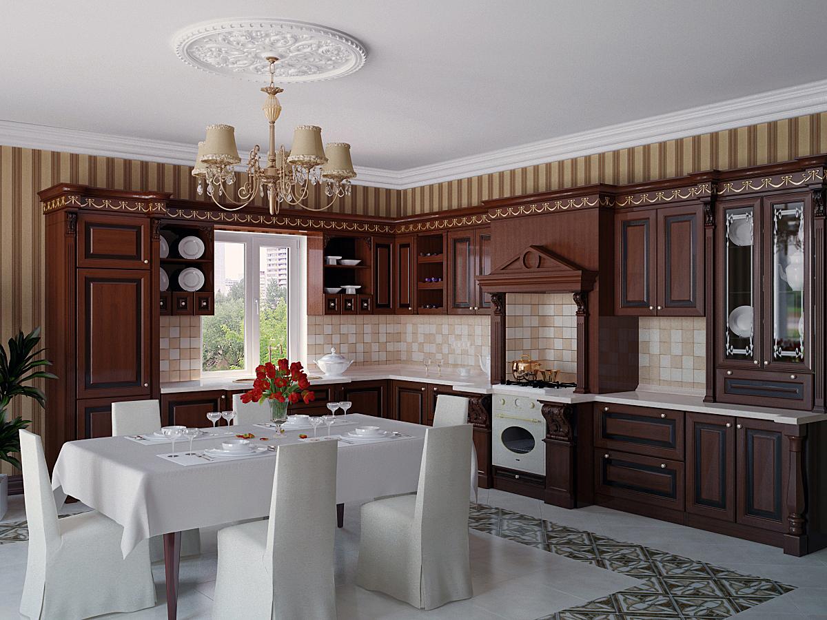 Мак кухня столовая гарнитур millenia