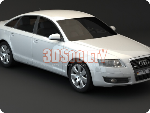3D model of Audi A6