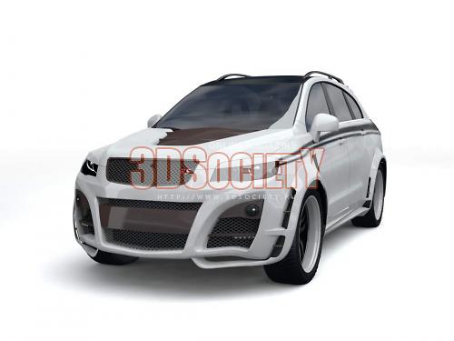 3D model Chevrolet Captiva
