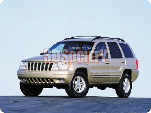 3D model of the Jeep Grand Cherokee